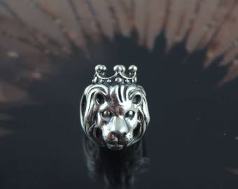 Authentic Pandora  King of The Jungle Charm 791377