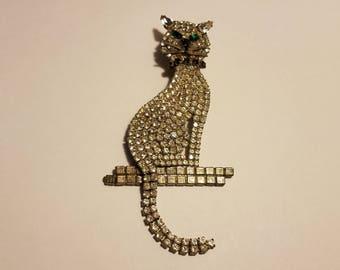 XL Glamour Kitty Pin FREE 2ND DAY
