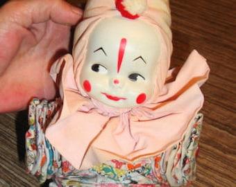 1950s Yo Yo Clown Doll. All Excellent+ Condition.