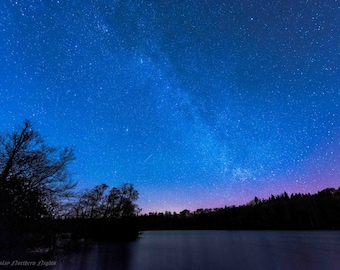 Landscapes / Nightscape from North East England