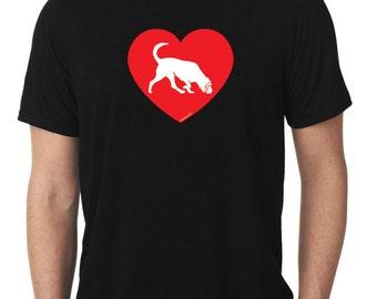 Love Bloodhound T-Shirt blood hound T415