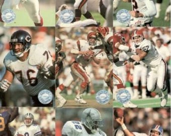 1991 Pro Set Platinium Football Cards Set of 150. Brett Favre RC-Dan Marino Lots More Good Shape