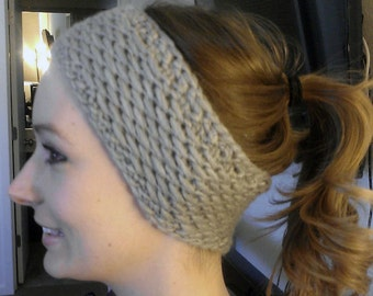 Honey Headband / Ear Warmer Knitting Pattern