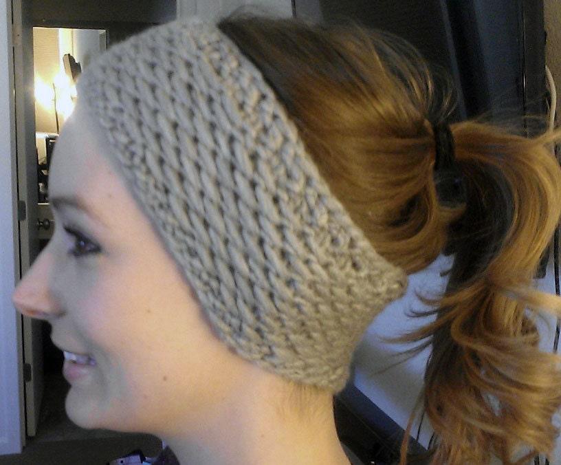 Perfect Knit Earwarmer Pattern Model Knitting Pattern Ideas