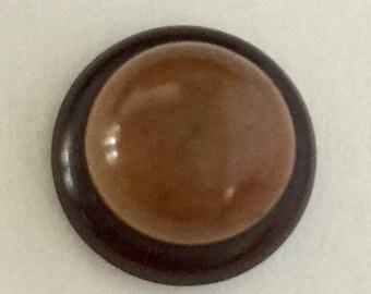 Vintage Vegetable Ivory Button
