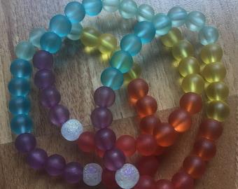 Colorful Chakra Inspired Bracelet