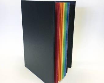 Handbound Rainbow Journal Notebook