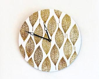 Rustic Wall Clock, Farmhouse Wall Clocks, Wall Clock Large