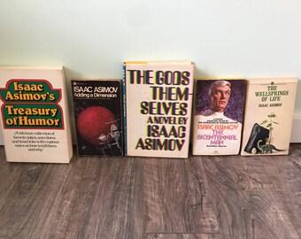 5 Isaac Asimov novels