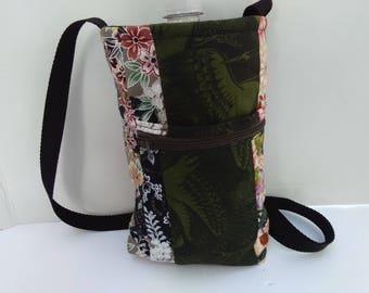drink cozie, water bottle holder, crossbody drink holder, over the shoulder beverage holder, insulated drink cozie