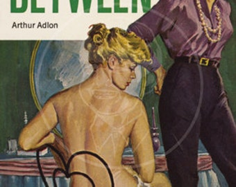 The One Between- 10x17 Giclée Canvas Print of Vintage Pulp Paperback
