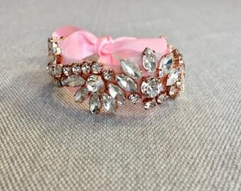 Bridal Cuff   Wedding Cuff   Bridal Bracelet   Wedding Bracelet   Rhinestone Bridal Bracelet   Bridal Accessories   Wedding Accessories