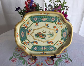 Vintage Baret Ware Canton snack tray - made in England