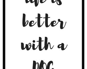 Life is better with a ...
