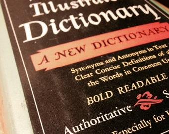 Vintage Webster's Illustrated Dictionary