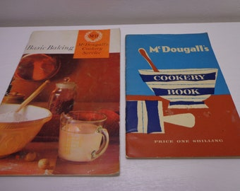 2 x Vintage McDougall's Recipe Booklets