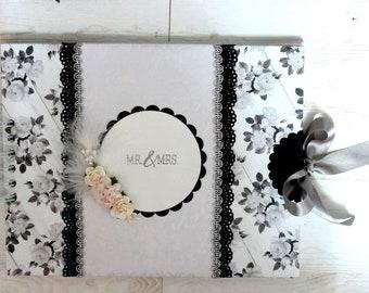 Romantic Wedding Signature Book