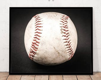 Modern Art Photography, Modern Art Print, Baseball Print, Sports Print, Sports Wall Art, Sports Decor, Baseball Decor, Baseball Home Decor
