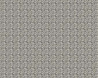 Weeping Willows - Black Daisies - 8344K - 1/2yd
