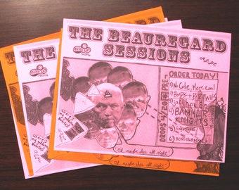 """The Beauregard Sessions"" [satirical handbill print, 8.5x11""]"