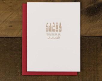 Beer themed Christmas Card