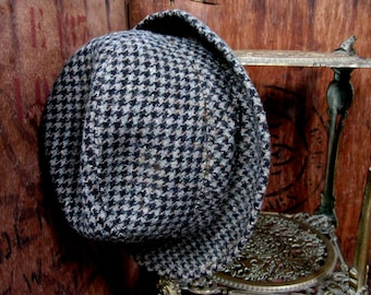 French Trilby, Vintage Trilby, Wool Trilby, Mens Trilby Hat, Trilby Hat, Vintage Trilby, Pure New Wool Hat, Vintage Hat, Mans Trilby