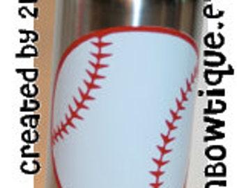 Personalized Softball or Baseball Waterbottle