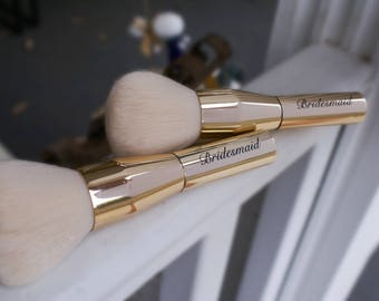 Bridesmaid Bride MOH Makeup Brush Gift