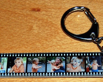 WRAP keychains personalized with 6 pictures