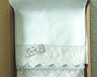 Towel 117 x 70 cm, linen creps