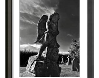 "Watchful Angel' Fine Art photography by William George LTD Edition 1/75 18""x12"""