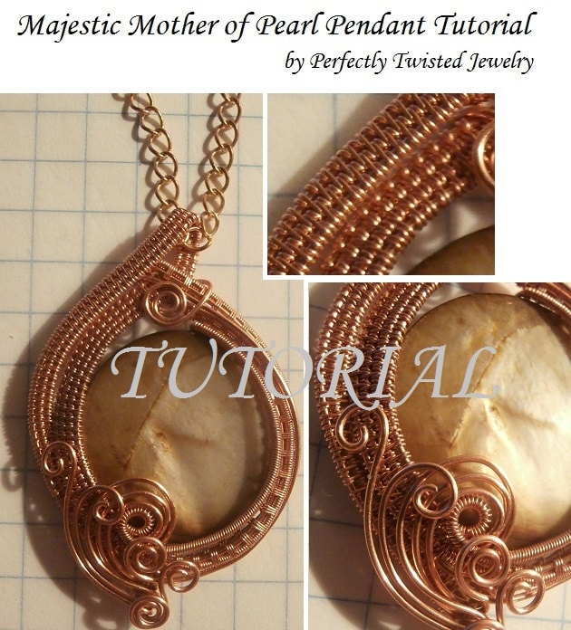 Wire wrapping tutorial wire wrapped pendant majestic mother zoom mozeypictures Image collections