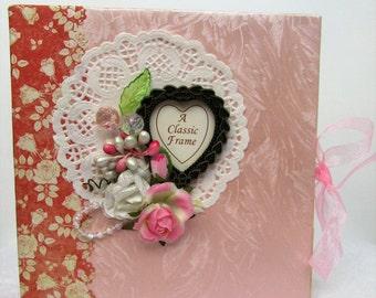 Wedding Mini Album, Mini Album, Wedding, Scrapbook Album, Photo Album, Ready To Ship, Gift for Her, Gift for Bride, Bachelorette,Scrapbook