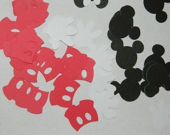 100 Mickey Mouse Confetti Pieces