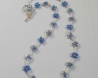 Dainty Daisy choker necklace