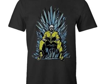 Breaking Bad HEISENBERG Iron Throne T-shirts Game of Thrones