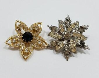 Charming Vintage Petite Rhinestone Pins