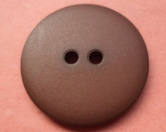 10 buttons Brown 21mm (3180) button