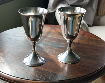 Reed and Barton Sterling Silver Goblets