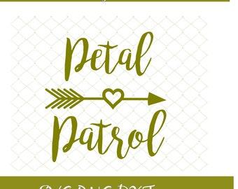 Petal Patrol Svg Petal Svg Wedding Party Design Svg Patrol Png Bride Png Wedding Party Design