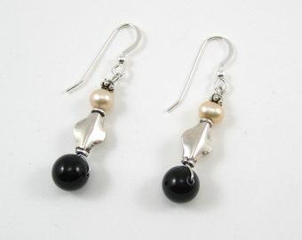 Black Onyx Earrings (E28)