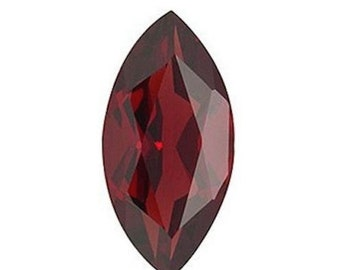 Natural Mozambique (Red) Garnet AAA Marquise Shape (4x2mm - 16x8mm)Loose Gemstones