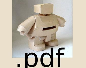Robot Papercraft PDF - DIY Template