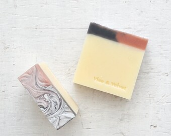 Driftwood Soap (VELVET) Lavender, Cedarwood, Rose Geranium, Ginger & Sandalwood - Coconut, Shea and Chamomile Soap