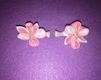 2 Inch butterfly hair clips