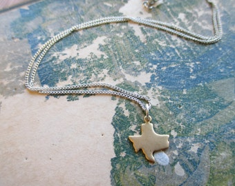 The Shelley Necklace - Tiny Texas Charm Necklace