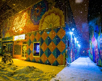 Lula Lounge in the Snow