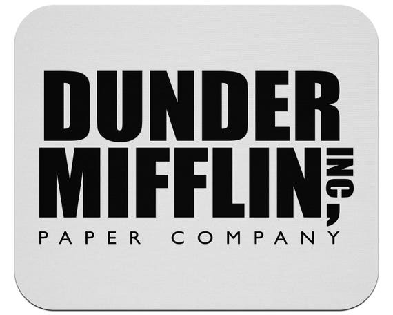 Dunder Mifflin The Office Mouse Pad