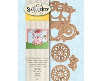Mothers Day Special: Spellbinders Shapeabilities Die D-Lites - Carriage  S2-248