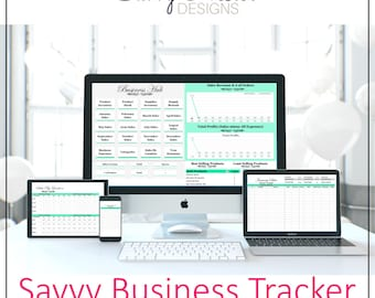 Business planner   productivity planner   daily planner   social media   business spreadsheet   inventory tracking   supplies system   2018